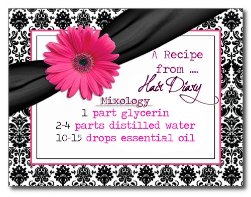 Recipe Card - BEAUTY SPRITZ