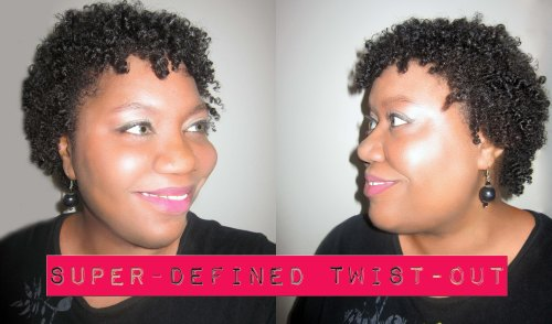 SUPER DEFINED TWIST-OUT