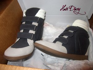 Keena Wedge Sneaker - SIDE
