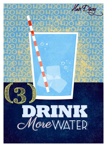 Drink More Water with #
